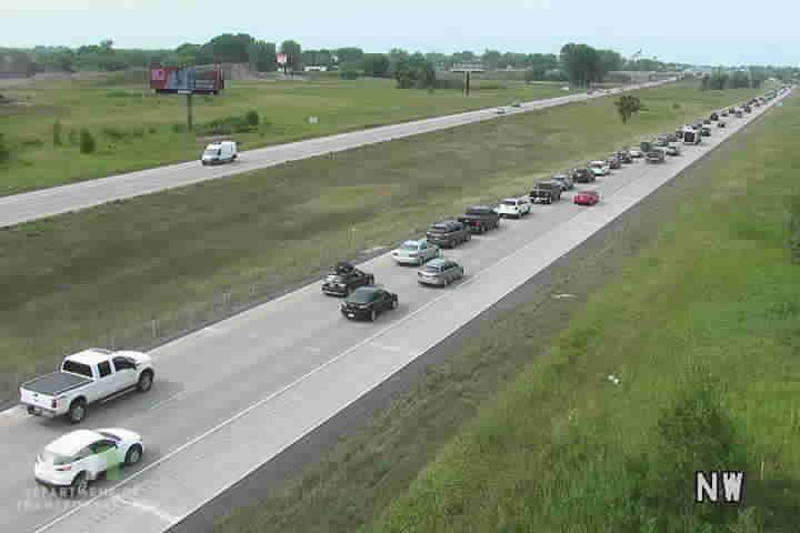 I-35E NB S of I-35W