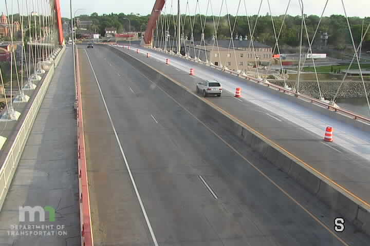 T.H.61 NB @ Mississippi River