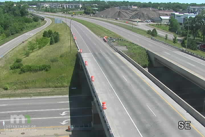 T.H.36 WB @ McKnight Rd