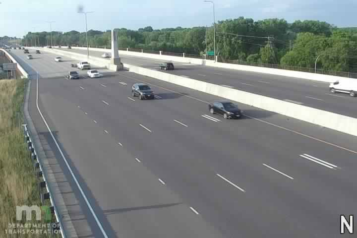 I-35W NB @ Black Dog Rd