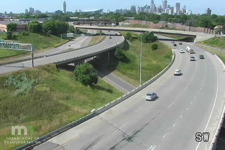 I-35W SB @ Johnson St